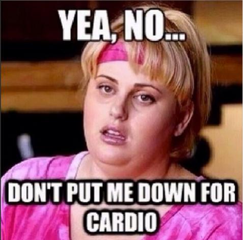 No Cardio Thanks