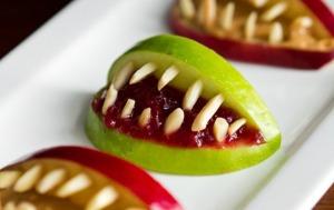 Scary Apple Bites